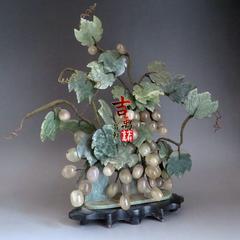 60年代 紫玉葡萄 摆件 多子多福 保真包老 古玩杂项 老物件 古董