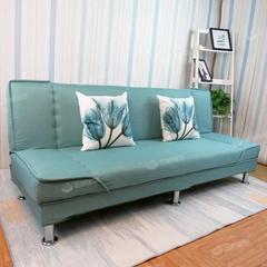 小户型布艺沙发简易客厅可折叠沙发单人双人三人沙发出租房沙发床