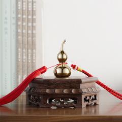 铜师傅  好运铜葫芦摆件