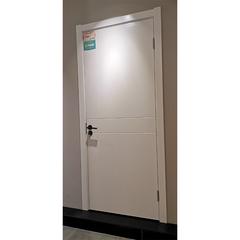 【力天木门】 力天白混平板 现代简约卧室客厅门  LT-M011