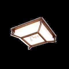 超班中式木艺  中式吸顶灯(黑胡桃木)