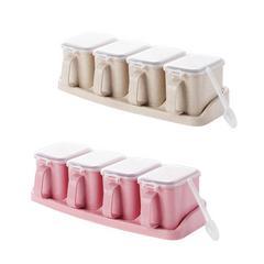 调料罐套装调味盒子厨房用品带盖料盒盐罐