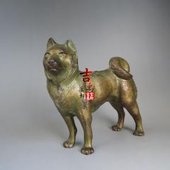 民国时期 日本原产 秋田犬 铸铁 约40年代 活灵活现 栩栩如生
