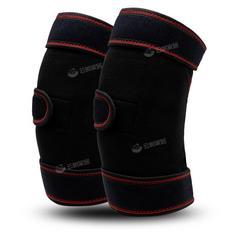 自发热护膝托玛琳磁石加厚OK布发热垫毛绒垫可拆卸