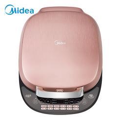 美的(Midea)电饼铛家用早餐机上下盘可拆卸烙饼机全触控面板煎烤机多用途锅JSY30A