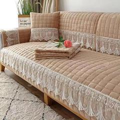 冬季沙发垫毛绒布艺欧式简约现代坐垫沙发套全包万能套沙发罩全盖