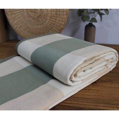 不起球老粗布床单加厚棉麻双人帆布三件套(送日本进口巧克力一盒;颜色随机)