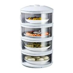 (宠粉日)防苍蝇菜罩盖菜罩家用防尘保温多层保鲜饭菜罩可拆洗剩菜剩饭神器