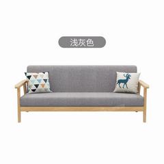 北欧布艺小沙发小户型客厅卧室出租房服装店公寓简易单人双人三人