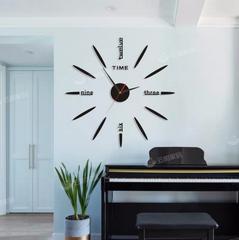 免打孔diy钟表挂钟客厅YKL时尚时钟现代简约装饰个性创意北欧表