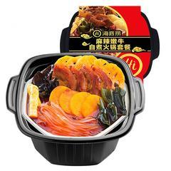 海底捞 懒人自煮自热小火锅 方便速食 即食火锅荤菜版 870g/桶