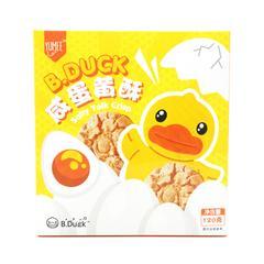 YUMEE小黄鸭咸蛋黄酥120克B.DUCK零食礼盒酥薄脆饼干