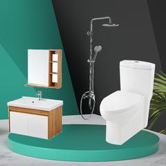 惠达浴室柜卫浴套餐组合 HDC6115,HDFL079A-A8,HDB228LY
