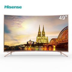 海信(Hisense)HZ49A66 49英寸超高清4K HDR 人工智能液晶曲面电视