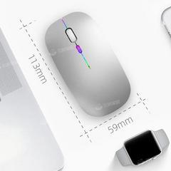 奎木狼可充电无线蓝牙双模鼠标静音台式笔记本通用
