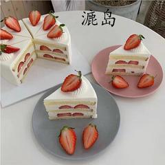 员工福利爆款 草莓角蛋糕