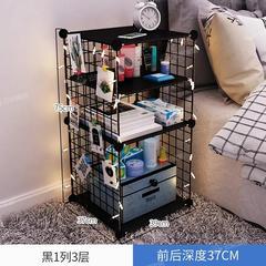 床头柜卧室夹缝收纳柜置物架柜子储物柜小型出租房床边柜迷你简约