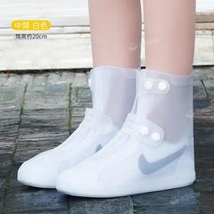 防水鞋套男雨鞋套女雨天防雨防护高筒加厚防滑耐磨底脚套雨靴
