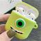 airpods苹果无线蓝牙耳机保护套耳机盒硅胶情侣可爱卡通女款潮2代(不含耳机)