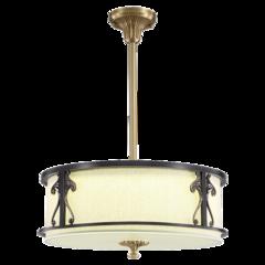 艾特丽全铜灯-卧室书房餐厅全铜吸顶灯-6838