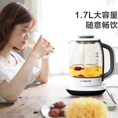 九阳(Joyoung) 养生壶家用智能1.7L煮茶煎药玻璃壶开水煲K17-D07