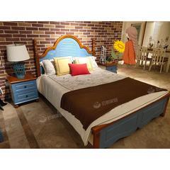 青少年单人床儿童房家具床头柜五斗柜组合套装(自提免运费)