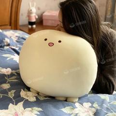 可爱软萌章鱼丸子团子可爱发酵面团女生治愈睡觉抱枕靠垫沙发卧室