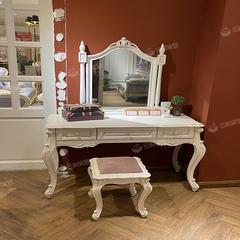 尚多法式妆台+妆镜+妆凳