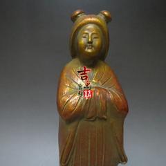 日本铜器 唐代杨贵妃 海外回流 古玩杂项 老物件 收藏珍品 手刻款