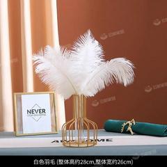 ins轻奢满天星干花花束摆件假花仿真花客厅餐桌房间装饰摆设