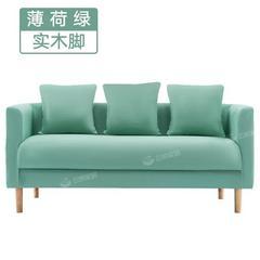 沙发小户型北欧现代简约布艺服装店出租房小沙发网红款单双人沙发