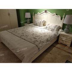 双人床箱体床储物床1.8米床床头柜现代简约主卧家具