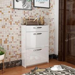 烤漆鞋柜家用门口大容量翻斗超薄进门储物多功能鞋架进门厅柜鞋柜