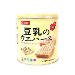 【菲律宾进口】【抖音爆款】低卡高纤COCO豆乳味夹心威化饼干350g