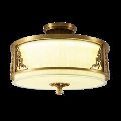 艾特丽  全铜灯/卧室/书房/餐厅全铜吸顶灯-6811