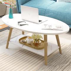 茶几小户型简约现代家用小茶几客厅经济型简易茶台茶桌北欧小桌子(双层款)