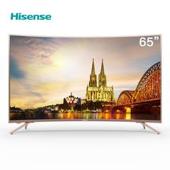 海信(Hisense)HZ65A66 65英寸超高清4K HDR 人工智能液晶曲面电视