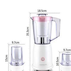 九阳(Joyoung)料理机家用商用 电动多功能双杯榨汁机  婴儿辅食 搅拌机JYL-C16V