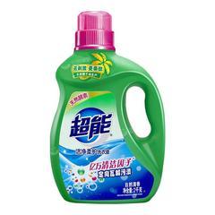 超能洗衣液瓶装批发价薰衣草自然清香香味持久留香低泡家庭装袋装