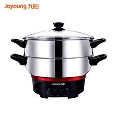 九阳(Joyoung)电蒸锅多功能家用电热锅不锈钢电火锅 JK-32R1