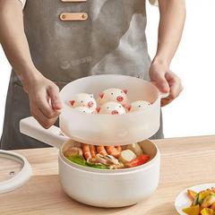 韩国现代电煮锅宿舍学生锅家用多功能一体小电锅