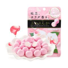 嘉娜宝玫瑰香体糖32g/袋 日本进口软糖果零食草莓樱花网红接吻糖