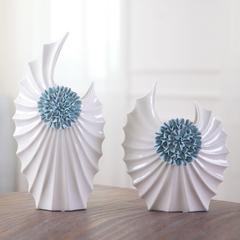 欧式现代简约时尚陶瓷花瓶样板房客厅家居酒柜装饰品结婚礼物摆件