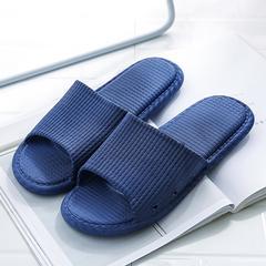 拖鞋男夏家用室内浴室防滑洗澡软底蓝(积分专享)
