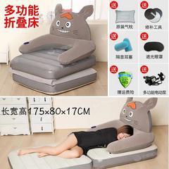 充气床垫加高家用双人加厚卡通龙猫床便携式户外单人自动冲气垫床