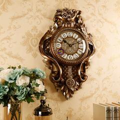 豪华欧式挂钟客厅个性创意时尚表家用时钟静音大气钟表现代装饰钟