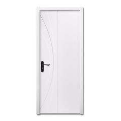 威纳木门 白混油 实木复合门 卧室现代简约套装门vn-127