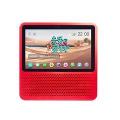 小度在家智能屏1S带屏触屏智能音箱蓝牙音箱 视频通话红色(积分专享)