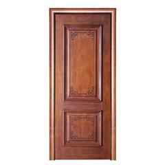 威纳木门 新中式实木贴皮木门 VN-339(红胡桃B)E1级环保木门