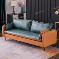 布艺沙发现代简约大小户型客厅三人位简约家具贵妃乳胶科技布组合